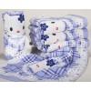 永亮毛巾厂出售浪漫系列--9273-1蓝色优质浪漫型毛巾