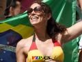 世界杯巴西时装热销 国旗球衣好卖【图】